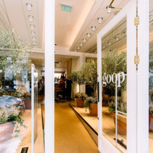 Goop Notting Hill store